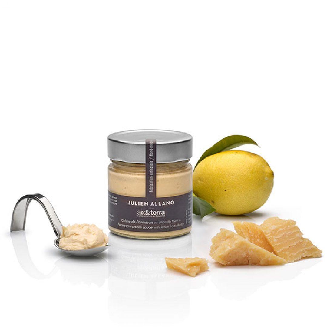 Crema de parmesano y limón / Creme de parmesan et citron