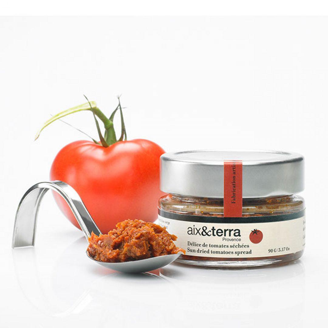 Delicias de tomates deshidratados / Délice de tomates séchées